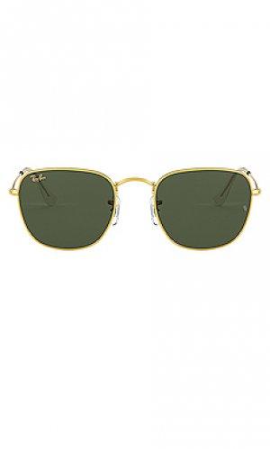 Солнцезащитные очки square Ray-Ban. Цвет: зеленый