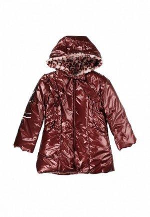 Куртка утепленная Born. Цвет: коричневый