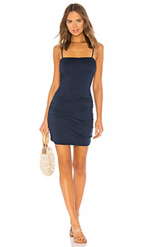Платье dale Velvet by Graham & Spencer. Цвет: синий