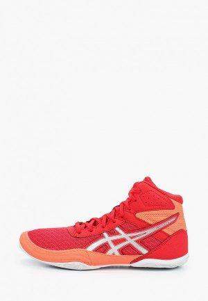 Борцовки ASICS MATFLEX 6 GS. Цвет: красный
