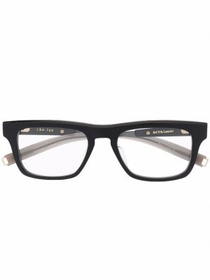 Очки Lancier Dita Eyewear. Цвет: черный