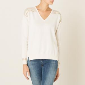 Пуловер MARSHALL BLUNE. Цвет: экрю