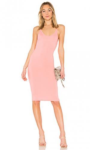 Платье миди kya by the way.. Цвет: розовый