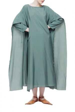 Платье Cyrille Gassiline. Цвет: зеленый