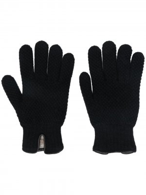 Трикотажные перчатки Lady Anne. Цвет: черный