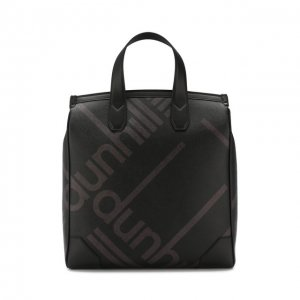 Текстильная сумка Dunhill. Цвет: чёрный