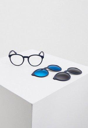 Комплект Emporio Armani EA4152 57591W, оправа и солнцезащитные линзы 2 шт.. Цвет: синий