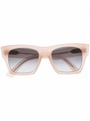 Солнцезащитные очки Droner в квадратной оправе Christian Roth. Цвет: нейтральные цвета