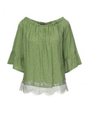 Блузка SISTE' S. Цвет: светло-зеленый