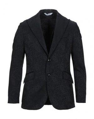 Пиджак BOTTEGA MARTINESE. Цвет: черный