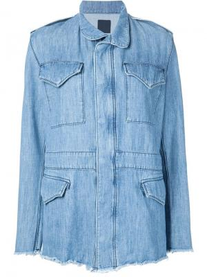 Safari denim jacket Rta. Цвет: синий