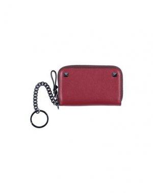 Бумажник VALENTINO GARAVANI. Цвет: красно-коричневый