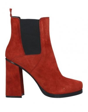Полусапоги и высокие ботинки GIAMPAOLO VIOZZI. Цвет: кирпично-красный