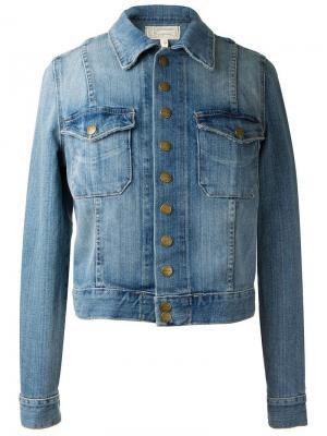 Classic denim jacket Current/Elliott. Цвет: синий