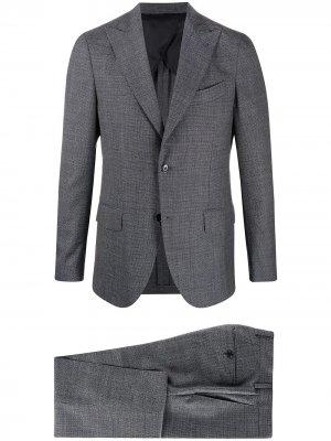 Delloglio костюм-двойка строгого кроя Dell'oglio. Цвет: синий