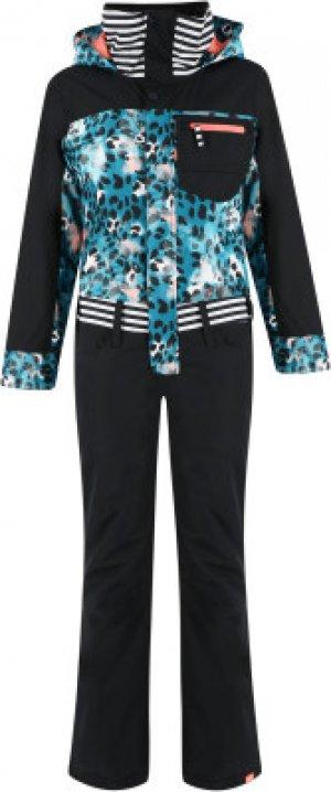 Комбинезон для девочек , размер 168 Roxy. Цвет: черный