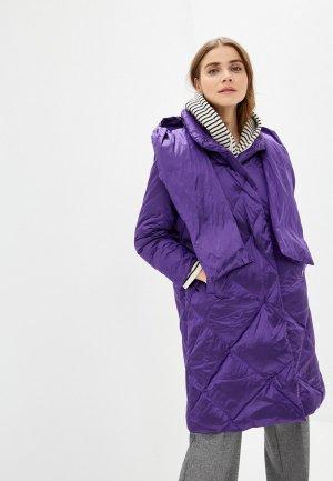 Пуховик Dixi-Coat. Цвет: фиолетовый