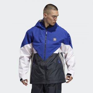 Сноубордическая куртка Premiere Riding Originals adidas. Цвет: белый