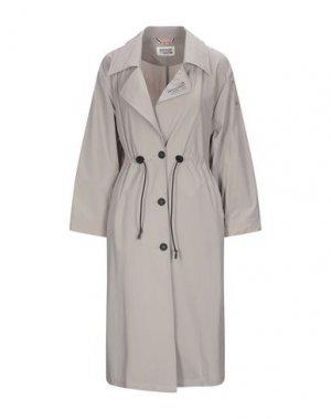 Легкое пальто GERTRUDE + GASTON. Цвет: голубиный серый