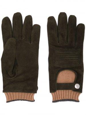 Многослойные перчатки Brunello Cucinelli