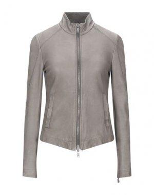 Куртка 10SEI0OTTO. Цвет: свинцово-серый