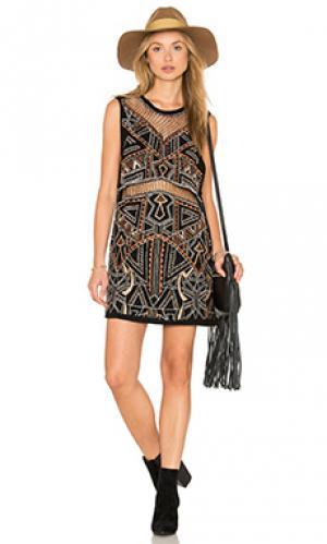 Платье laurie Cleobella. Цвет: черный