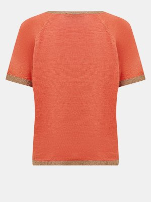 Пуловер Seventy. Цвет: oranzhevyy