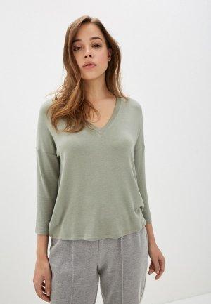 Пуловер Mango - PIKI. Цвет: зеленый
