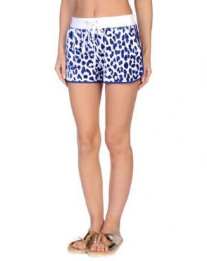 Пляжные брюки и шорты VDP COLLECTION. Цвет: синий