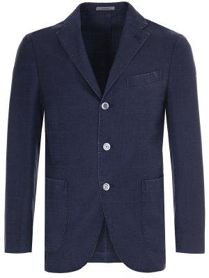 Пиджак из шерсти и кашемира BOGLIOLI