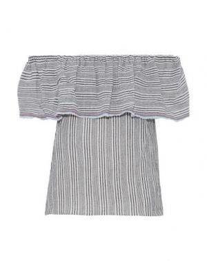 Блузка BAILEY 44. Цвет: серый
