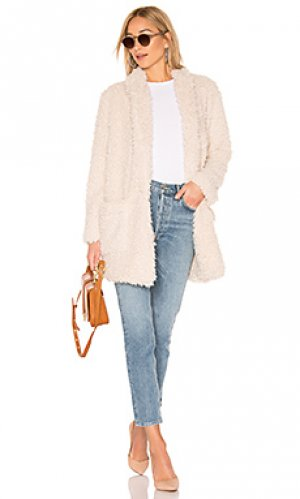 Пальто mix a lot BB Dakota. Цвет: кремовый
