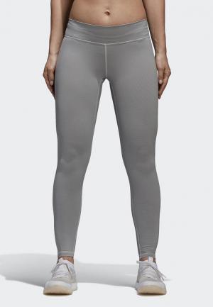 Леггинсы adidas BT RR 7/8 HTH. Цвет: серый