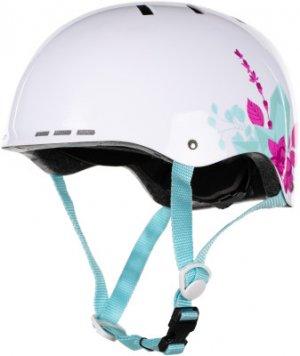 Шлем детский SLIDE GIRL Nordway. Цвет: белый
