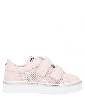 Кеды и кроссовки BALDININI. Цвет: светло-розовый