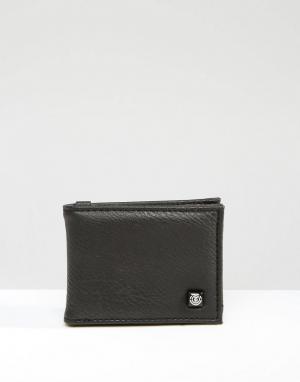 Бумажник Segur Element. Цвет: черный