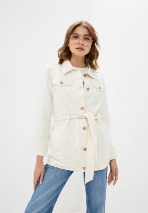 Куртка джинсовая Brave Soul. Цвет: бежевый