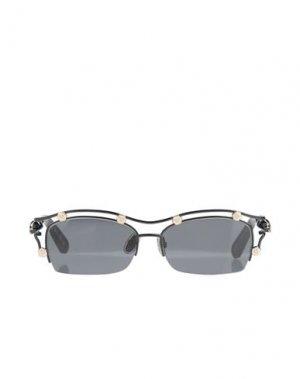 Солнечные очки PHILIPP PLEIN. Цвет: черный