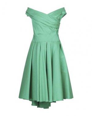 Короткое платье ALESSANDRO LEGORA. Цвет: зеленый