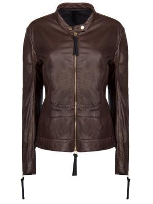 Кожаная куртка MARNI
