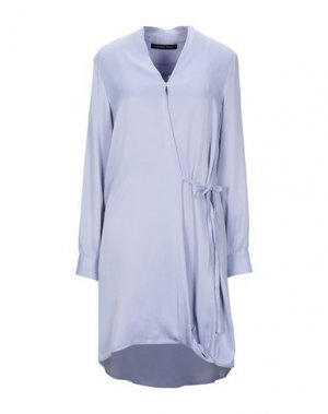 Короткое платье FRANCESCA PICCINI. Цвет: сиреневый