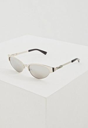 Очки солнцезащитные Moschino MOS039/S 010. Цвет: серебряный
