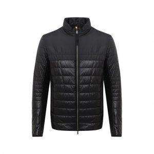 Утепленная куртка Bogner. Цвет: чёрный