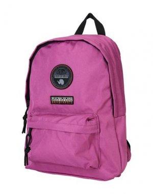 Рюкзаки и сумки на пояс NAPAPIJRI. Цвет: фуксия