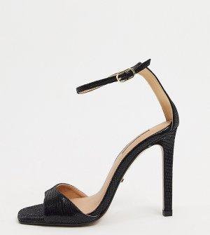Черные сандалии для широкой стопы -Черный Topshop