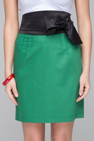 Юбка Gloss. Цвет: зеленый