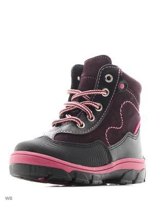 Ботинки Детский скороход. Цвет: сливовый