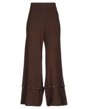 Повседневные брюки ALYSI. Цвет: какао