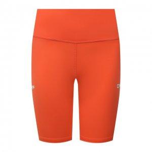Шорты Off-White. Цвет: оранжевый