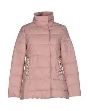 Куртка MAISON ESPIN. Цвет: пастельно-розовый